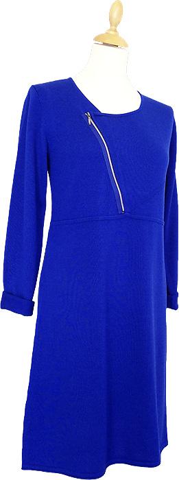 Stickad enfärgad tunika från danska Signatures vinterkollektion - Finns hos Boutique Rosé i Västervik