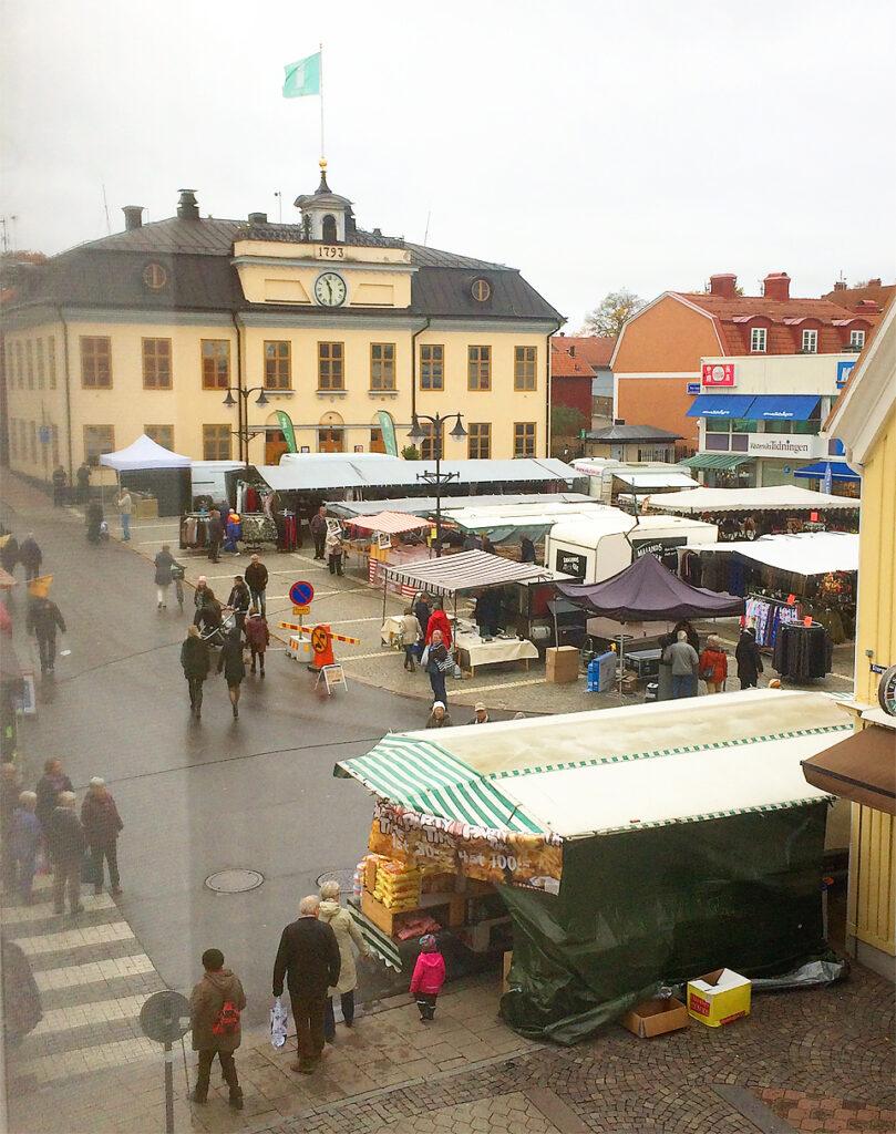 Höstmarknad 2017 i Västerviks Centrum 18 oktober